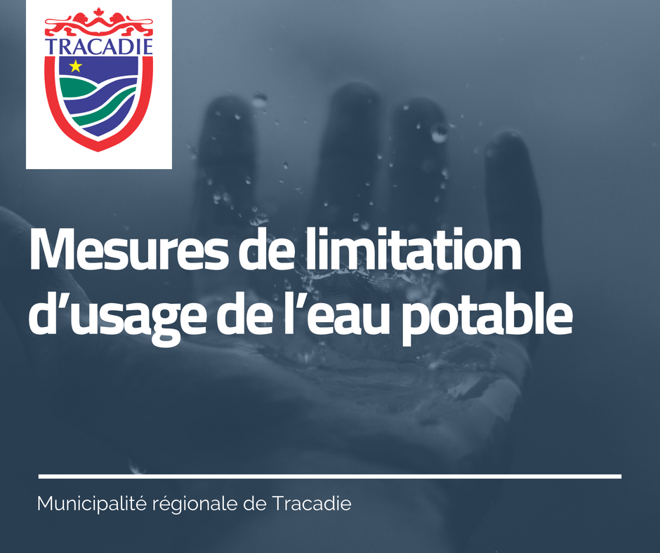 Mesures de limitation dusage de leau potable